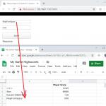 Send data to Google Spreadsheet