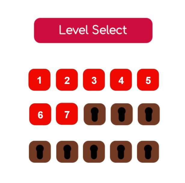 Simple Level Selection Screen C3