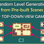 Random Level Generator Template for Top-Down View Games
